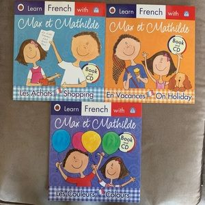 Other - Learn French with Max et Matilde books